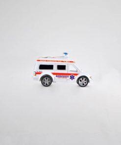 Ambulancia a fricción en bolsa