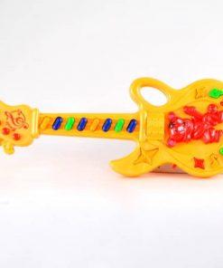 Guitarra a pila con sonido en bolsa