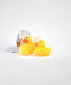 Patos de goma x 3